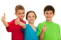 Group of smiling kids Stock Photo