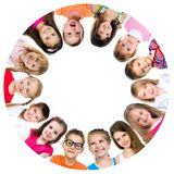 Group of smiling kids Stock Photography