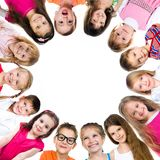 Group of smiling kids Stock Image