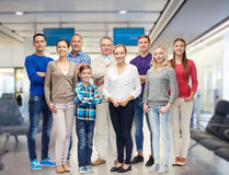 Group of smiling people Royalty Free Stock Photos