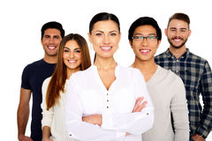 Group of a smiling people Royalty Free Stock Photography