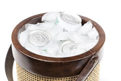 A group of soda cans Royalty Free Stock Image