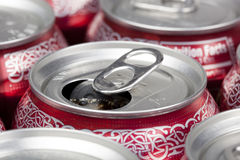 A group of soda cans Royalty Free Stock Photography