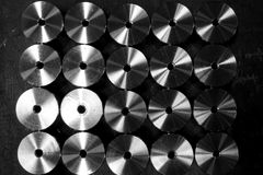 Group of spare parts Royalty Free Stock Photography