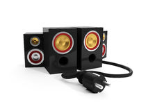 Group Speakers Stock Image