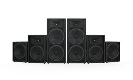 Group of Speakers Royalty Free Stock Images