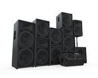 Group of Speakers Royalty Free Stock Image