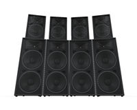 Group of Speakers Stock Image
