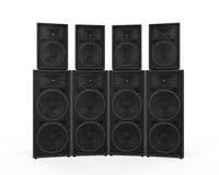 Group of Speakers Stock Photos