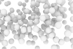 Group of spheres Stock Photography