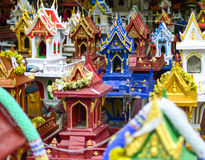 Group of spirit house , joss house Royalty Free Stock Image