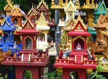 Group of spirit house , joss house Stock Images