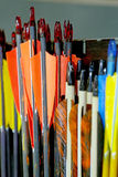 Group of sport bolt arrows in row Royalty Free Stock Photos
