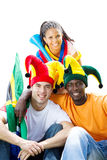 Group sports fan Royalty Free Stock Photos