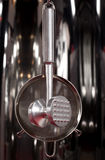 Group of stainless steel kitchenware Royalty Free Stock Photos