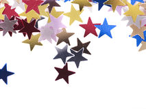 Group star shape corner. Royalty Free Stock Photography
