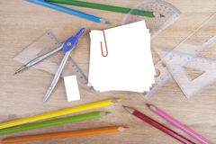Group of stationery Stock Photo