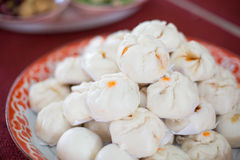Group of steamed stuff bun Royalty Free Stock Images
