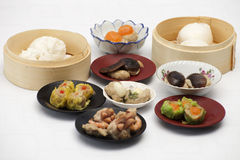 Group of stream Dim Sum chinese food Royalty Free Stock Photography