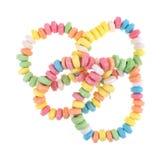 Group of stretchable candy bracelets Stock Photography