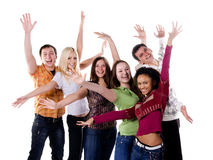 Group of student Stock Image