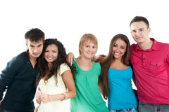 Group of student Royalty Free Stock Photography