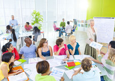 Group of Student in the Classroom Stock Photos