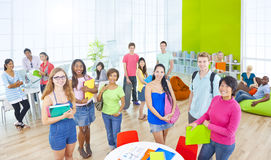 Group of Student in University Stock Photos