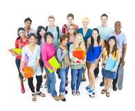 Group of Student in University Concepts Stock Photography