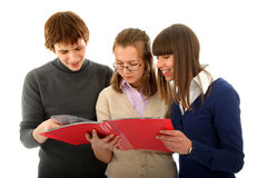 Group of students Stock Image