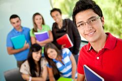 Group of students Stock Images