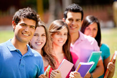 Group of students Stock Photography
