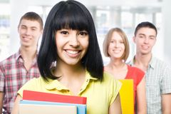 Group of students Royalty Free Stock Images