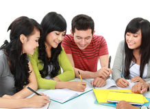 Group of students Royalty Free Stock Photography