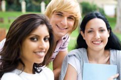 Group students Stock Photography