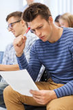 Group of students in classroom Royalty Free Stock Photography