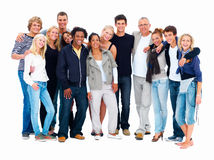 Group of students - group portrait Royalty Free Stock Photos
