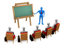 Group of students and teacher Royalty Free Stock Photography