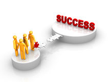 Group Success Royalty Free Stock Photo