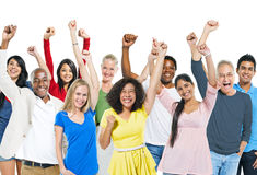 Group success adult happiness smiling Royalty Free Stock Images