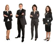 Group of successful business people Royalty Free Stock Images