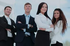 A group of successful business people. Group of successful business people looking confident Royalty Free Stock Images