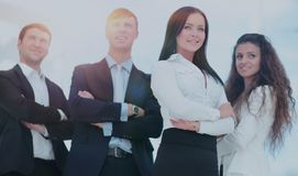 A group of successful business people. Group of successful business people looking confident Stock Photo