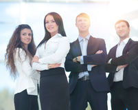 A group of successful business people Stock Photo