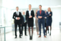 Group of successful business people looking confident Royalty Free Stock Photos