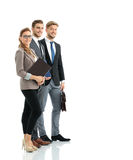 Group of successful business people looking confident Stock Photography