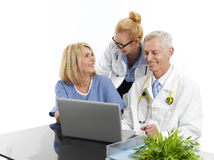 Group of successful medical team Royalty Free Stock Images