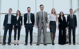 Group of successful young business people Royalty Free Stock Photo