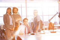 Group of successfull business group meeting Stock Image