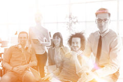 Group of successfull business group meeting Stock Photography